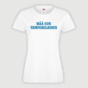 Tamperelainen t-paita naiset