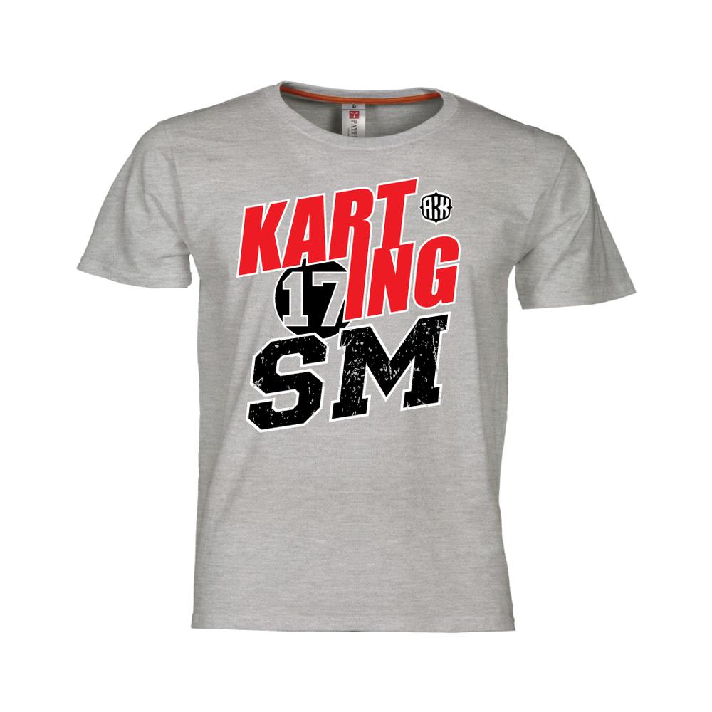 Karting SM, miesten T-paita