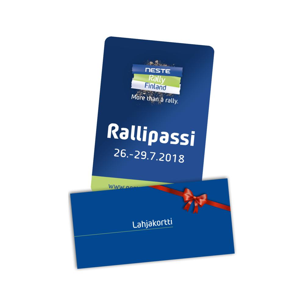 Rallipassilahjakortti 2018