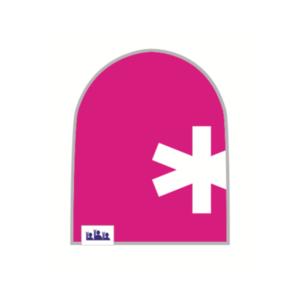 Trikoopipo Pinkki lumihiutale