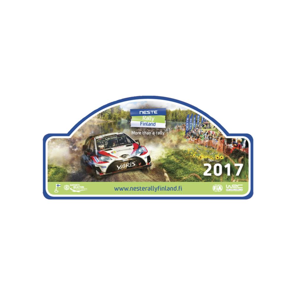 Neste Ralli 2017 tarra