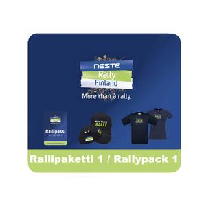 Rallipaketti 1 (Rallipassi, T-paita, Lippis)
