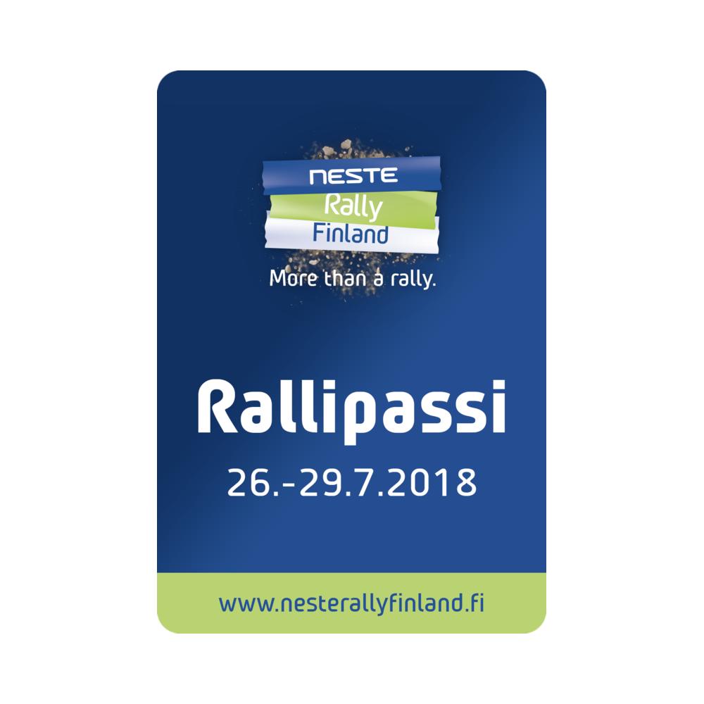 Rallipassi 2018