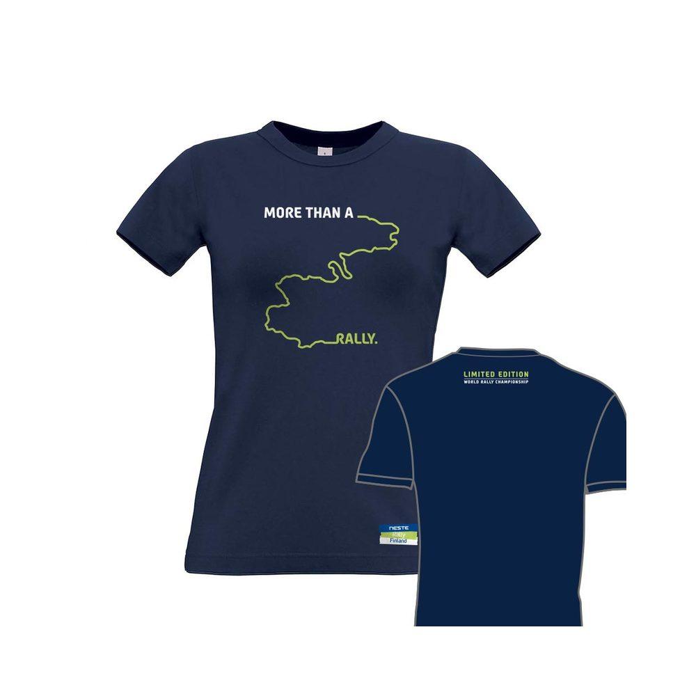 Neste Ralli -naisten T-paita, Rallipolku 2016